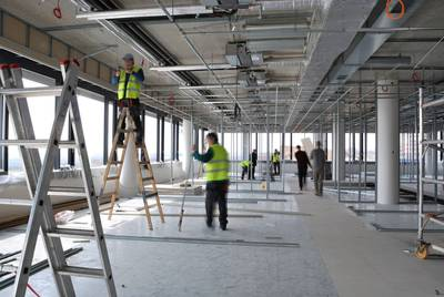 What is a fit out service?